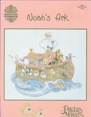 Precious Moments, Noah's Ark By Gloria & Pat, counted cross stitch