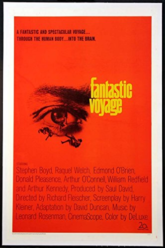 Fantastic Voyage Linen Backed Movie Poster