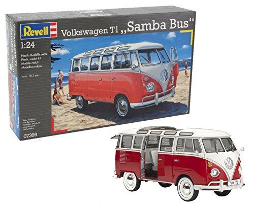 Revell 07399 VW Samba Bus Model Kit from Revell