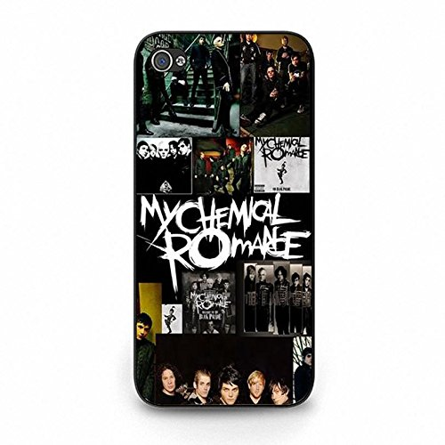 Iphone 5c Band MCR Cover Shell Unique Design Alternative/Indie Rock Band My Chemical Romance Phone Case Cover for Iphone 5c