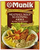 Munik Kuah Bakso Meatball Soup Seasoning, 58-Gram