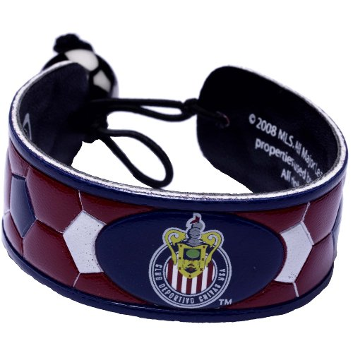 MLS Chivas USA Team Color Soccer Bracelet (Soccer Team Chivas Usa)