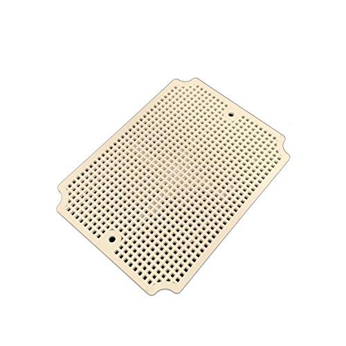 (BUD Industries NBX-32912-PL ABS Plastic Internal Panel, 7-5/16