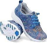 Nurse Mates Women's Velocity Blue Multi Shoe