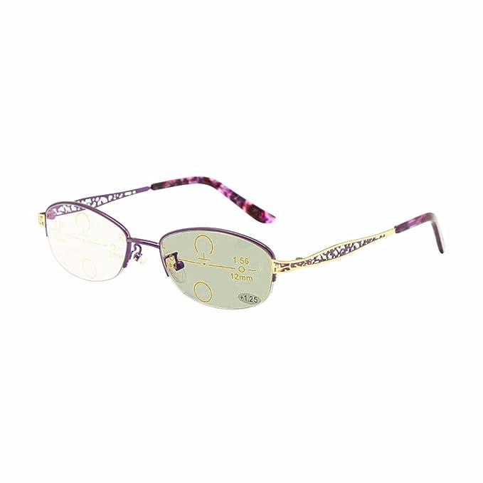 Transición fotocrómico progresivo multi Focus gafas de ...