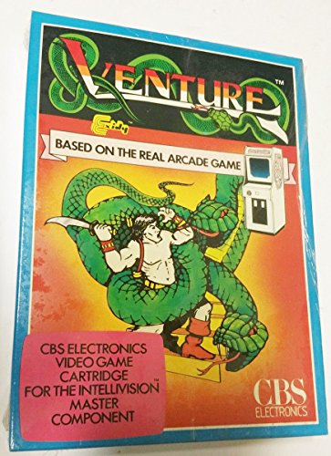 Venture - Intellivision (English U.K. Version Serpent Edition)
