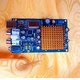 Amazon.com: Jillier HiFi 6X TDA1543 decodificador de audio ...