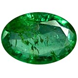 0.34 ct Oval Cut (6 x 4 mm) Green Color 100% Natural (Un-Heated) Colombian Emerald Natural Loose Gemstone