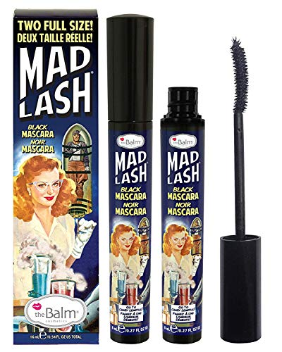 The Balm Mad Lash Mascara, 0.27 oz Black 2 Pieces.