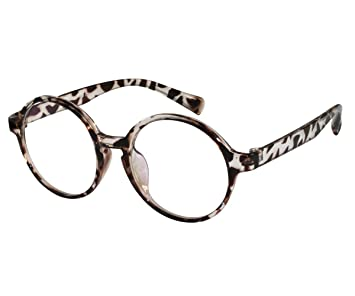 278bc3a199b3 Amazon.com: EyeBuyExpress Reading Glasses RX Men Animal Print Retro ...