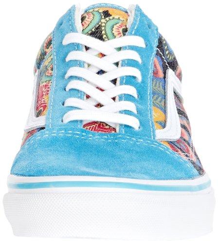 Basses Vans Turquoise Skool U Old Baskets U Adulte Mixte Vans TwYdzgq