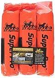 D.T. Systems Cordura Nylon Dog Training Dummy, Blaze orange, Small, 2-Inch by 9-Inch 3 Pack