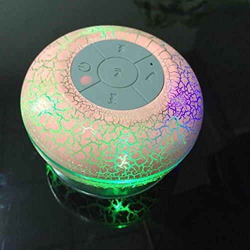 XmanxNew Mini Water Resistant Wireless Shower Speaker, X10 H
