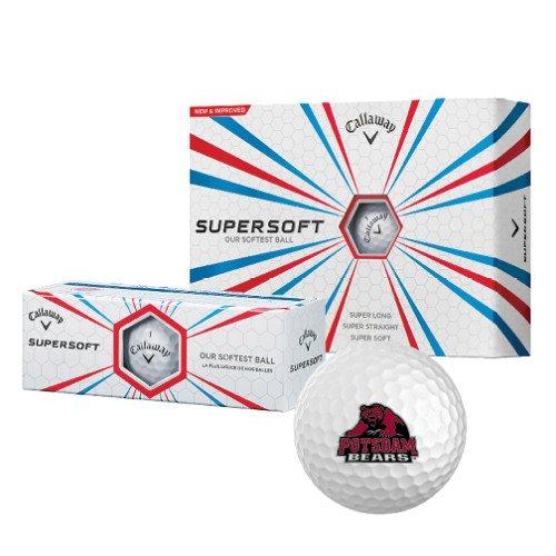 ポツダムCallaway Supersoftゴルフボール12 / Pkg 'ポツダムBears – 公式ロゴ」   B00LNNG6Q0