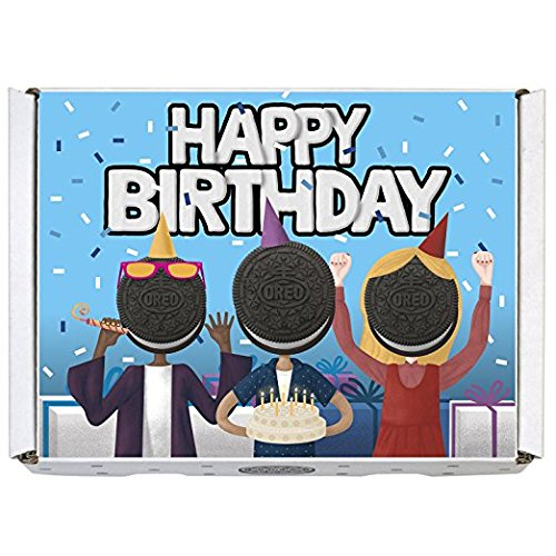 Gift Birthday Happy Set (Oreo Gift Boxes - Includes Regular Oreo, Double Stuf and Mini Oreo (Happy Birthday))