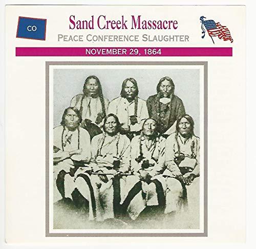 1995 Atlas, Civil War Cards, 70.18 Sand Creek Massacre, Chief Black Kettle
