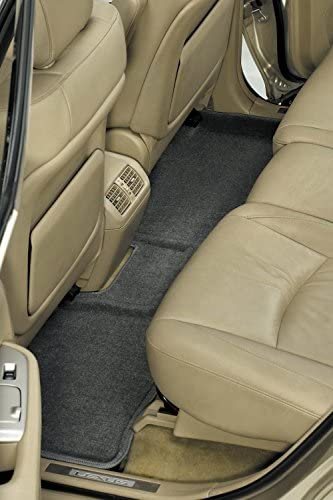 3D MAXpider Second Row Custom Fit All-Weather Floor Mat for Select Buick Enclave //Chevrolet Traverse //GMC Acadia Models Classic Carpet Tan