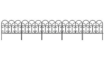 Amagabeli décoratifs Clôture de jardin 45,7 x 45,7 cm X 5 panneaux ...