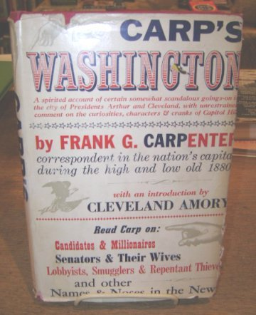 Carp'S Washington by Frank G. Carpenter