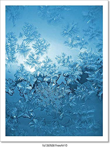 Barewalls Frosted Glass Paper Print Wall Art (13in. x 10in.)