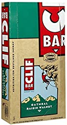Clif Bar Energy Bars, Oatmeal Raisin Walnut, 12 ct