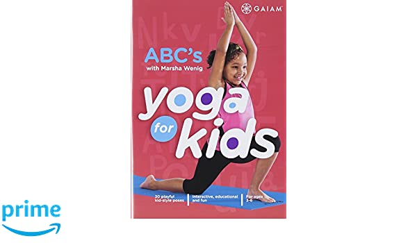 Amazon.com: Yoga For Kids: ABCs: Marsha Wenig, Jr. Tom ...
