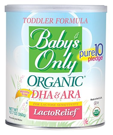Baby's Only Organic LactoRelief with DHA & ARA Toddler Formula - Pack of (Chipotle Granules)