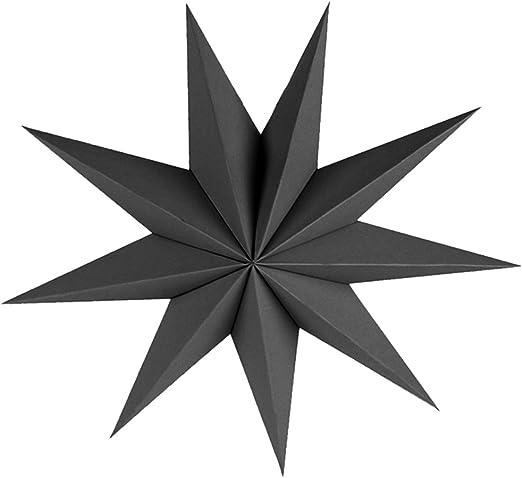 - Noir 50//70 cm 50 cm Baoblaze 50 // 70cm Papier /Étoile Lanterne Suspendue Decor Craft pour Mariage No/ël