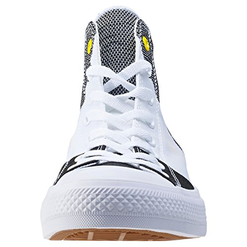 White Mixte Yellow Converse Star Chuck Taylor Weiss All II Black Baskets Hautes Black Adulte x74Hqaxw