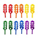 Champion Sports Scoop Ball - Set of 6, Assorted Colors