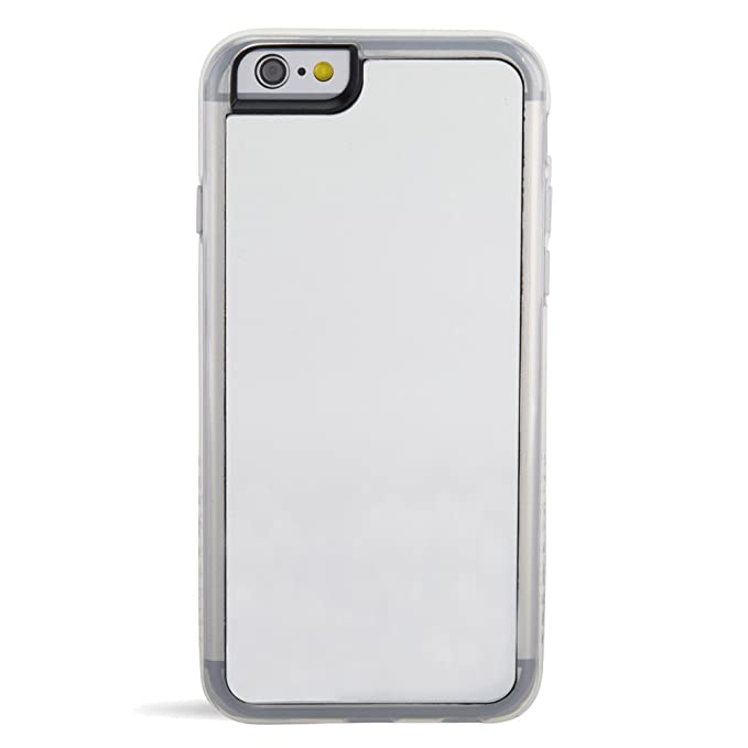 big sale 1235a 8e64b ZERO GRAVITY Cell Phone Case for Apple iPhone 6/6s - Retail Packaging -  Silver/Mirror