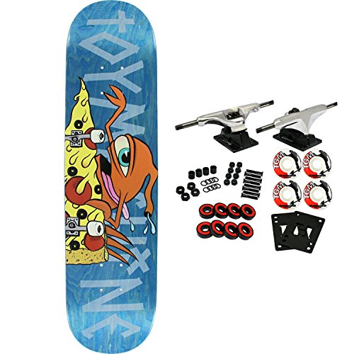 Toy Machine Skateboard Complete Pizza Shredder Sect ()