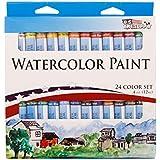 US Art Supply® 12ml Watercolor Tube Artist Paint Set (24-Tubes)