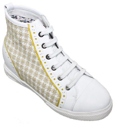 Toto - W367 - 3 Inches Taller - Hoogte Toenemende Liftschoenen - Dames Sneakers