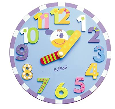 Boikido Wooden Chunky Clock Puzzle by Boikido
