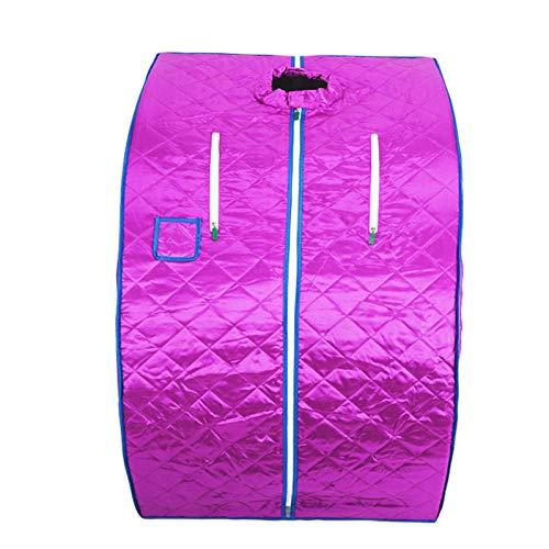 Sauna Infrared Kits (YXLONG Sauna Kit,Portable Sauna Cabin Steam Full Body Fumigation Indoor Body Slimming Therapy Individual,Purple)