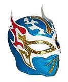 SIN CARA LYCRA Youth Lucha Libre Wrestling Mask - KIDS Costume Wear - BLUE
