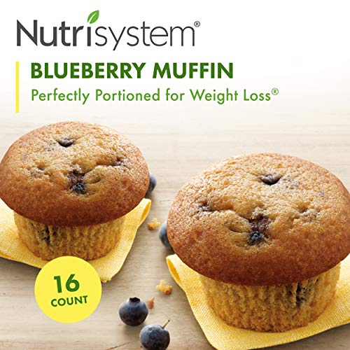 - Nutrisystem Blueberry Muffins, 16 ct