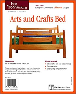 Enjoyable Fine Woodworkings Arts And Crafts Bed Plan Editors Of Fine Squirreltailoven Fun Painted Chair Ideas Images Squirreltailovenorg