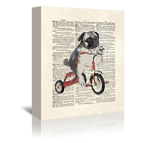 Americanflat Gallery Wrapped Canvas - Mike the Trike - Matt Dinniman, 8