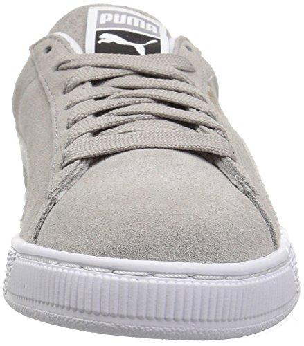 Hvit Blå Klassisk Aske Unisex Puma Semsket Puma Voksnes Sneaker OHO1q8n