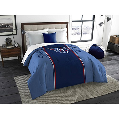 NFL Anthem Twin/Full Bedding Comforter Only, Tennessee (Tennessee Titans Bedding)