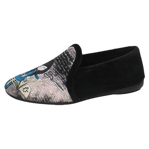 MORANCHEL 4458 Chinelas DE CASA NIÑA Zapatillas CASA Negro 39: Amazon.es: Zapatos y complementos