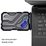 Image of Laptop Cooler, Aicheson Portable Laptop Cooling Pad with Vacuum Fan, Faster Cooling And USB Powered,Support Various Size 14inch To 17inch Laptops