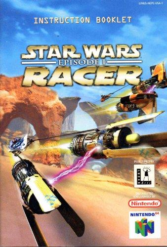 (Star Wars Episode 1 Racer N64 Instruction Booklet (Nintendo 64 Manual Only) (Nintendo 64 Manual))