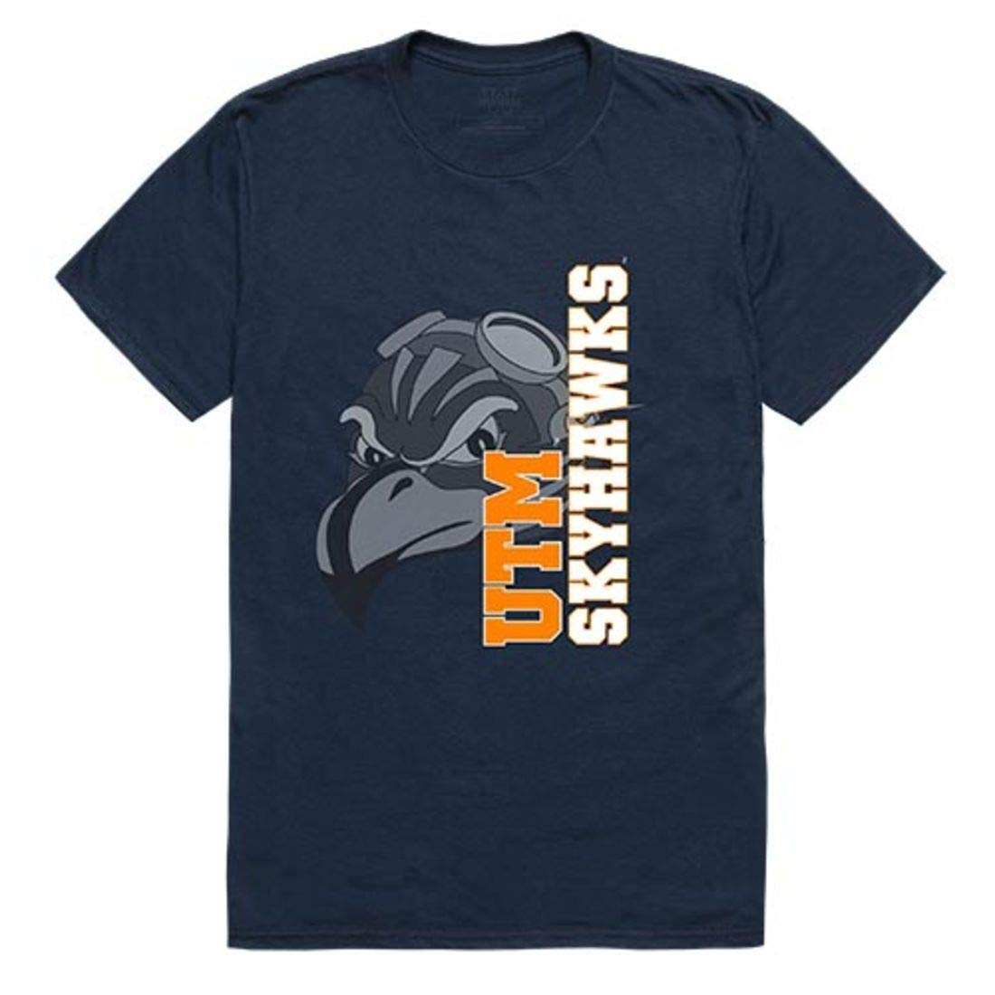 Utm University Of Tennessee At Martin Skyhawks Ghost Tee T Shirt Navy