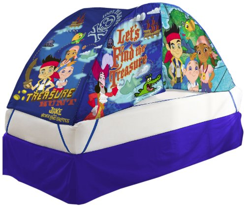 Disney Jake and The Pirates Bed Tent with Pushlight Assortment (Jake And The Neverland Pirates Sleeping Bag)