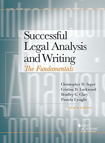 Successful Legal Analysis and Writing: The Fundamentals ()