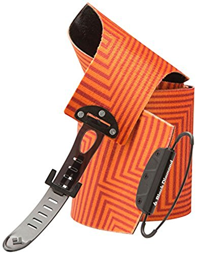 Black Diamond Ascension Nylon STS Climbing Skins BD Orange 110 mm & Towel Bundle