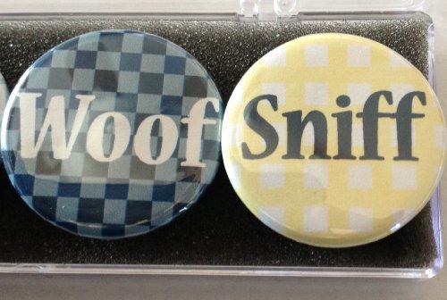 - Woof Dig Sniff Dog Magnet Set 6 Assorted Magnets